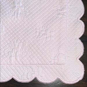Pottery Barn Kids Light Pink Pillow Cover